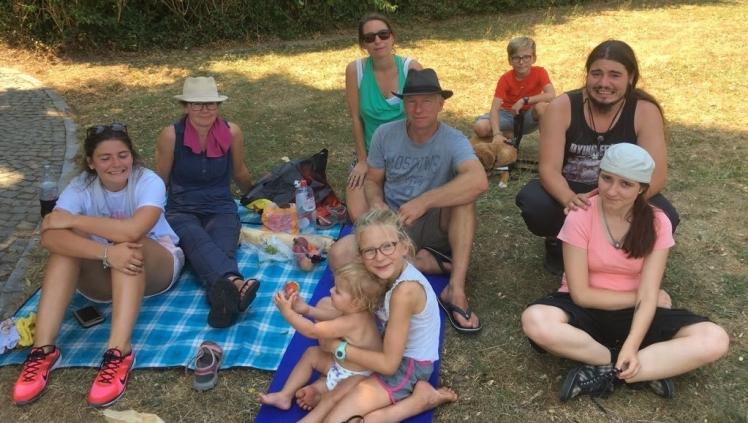 Picknick met de familie