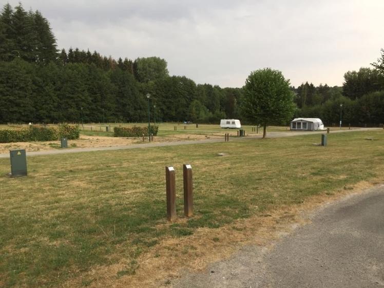 Verlaten camping