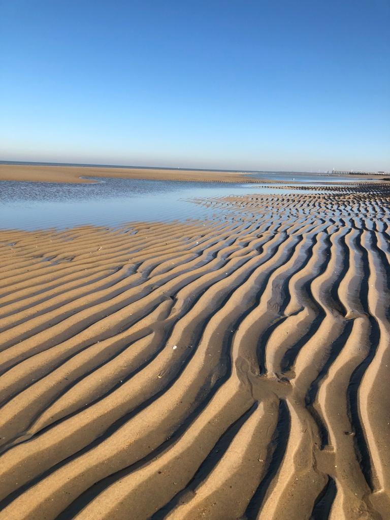 Langs de Belgische kust